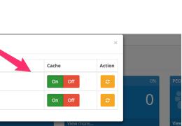 Как очистить кеш или отключить кеширование Opencart 3.0