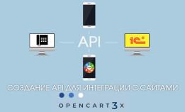 Создание API для интеграции с сайтами